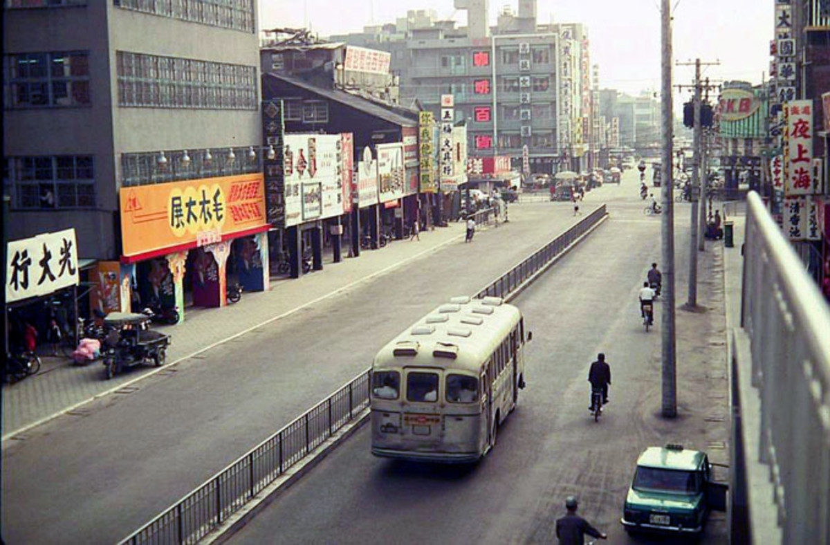 Kaohsiung Yancheng District about 1970