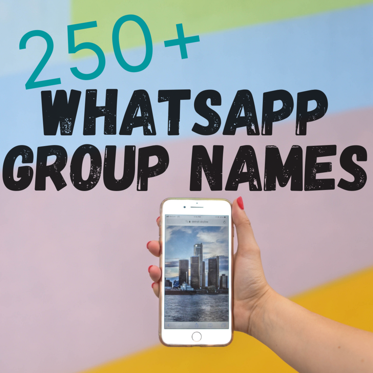 250+ WhatsApp Group Names for friends