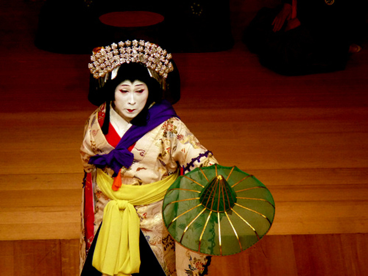 Kabuki from Japan is now an all-male ensemble