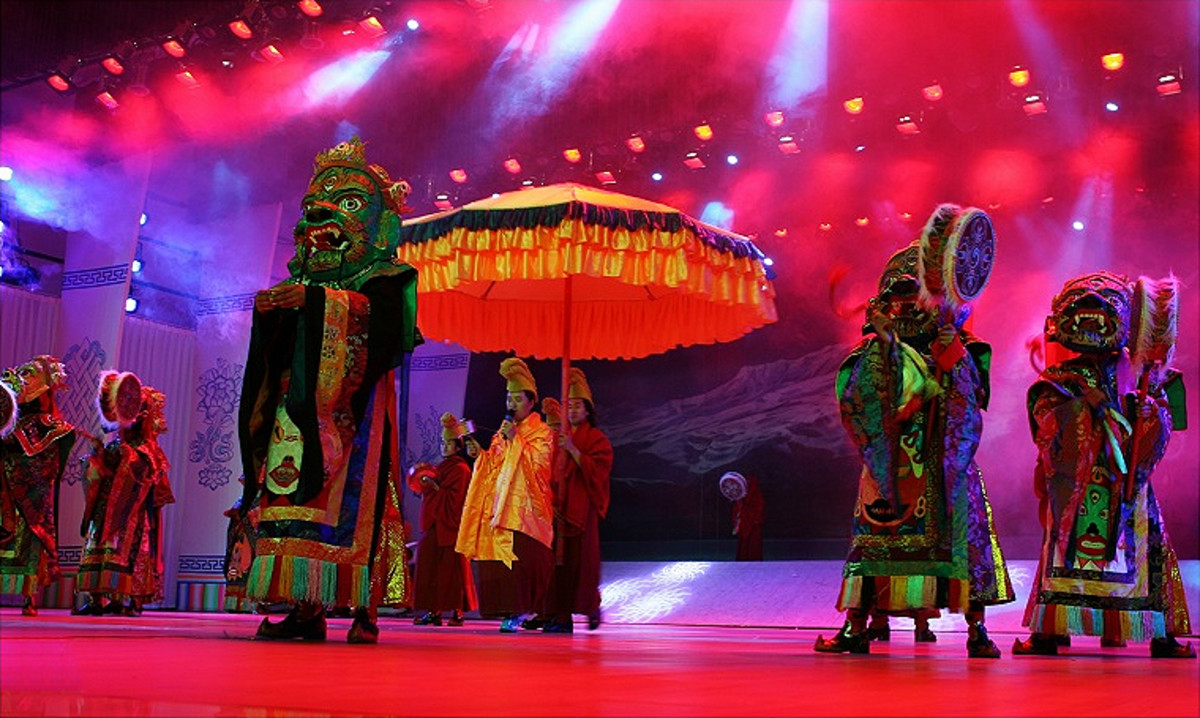 Ache Lhamo from Tibet