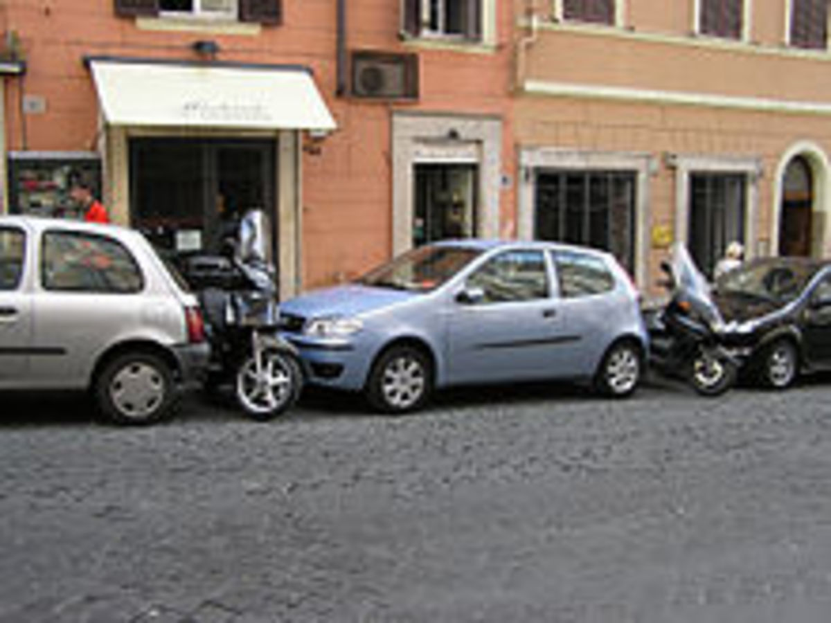 Parking in tight and narrow spaces is history