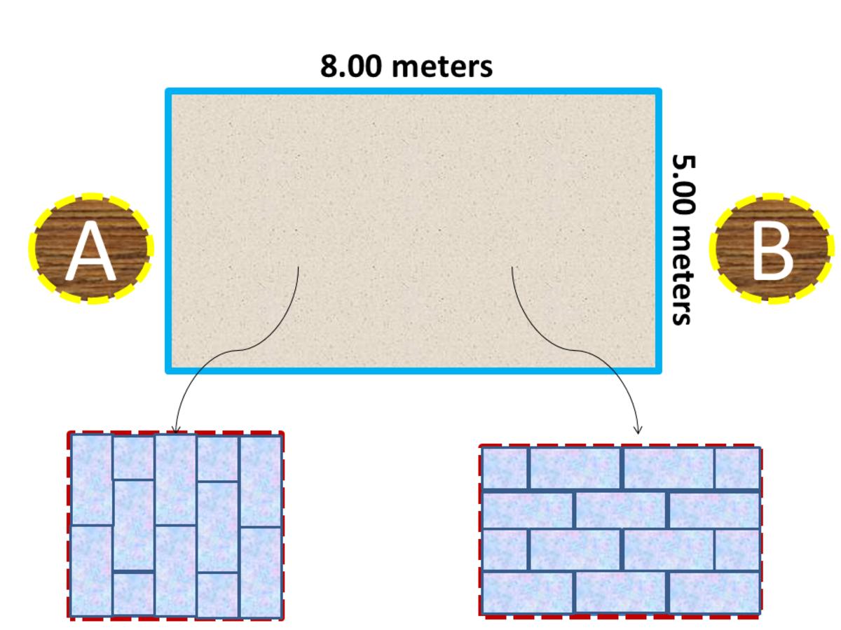 Estimate Rectangular Ceramic Tiles