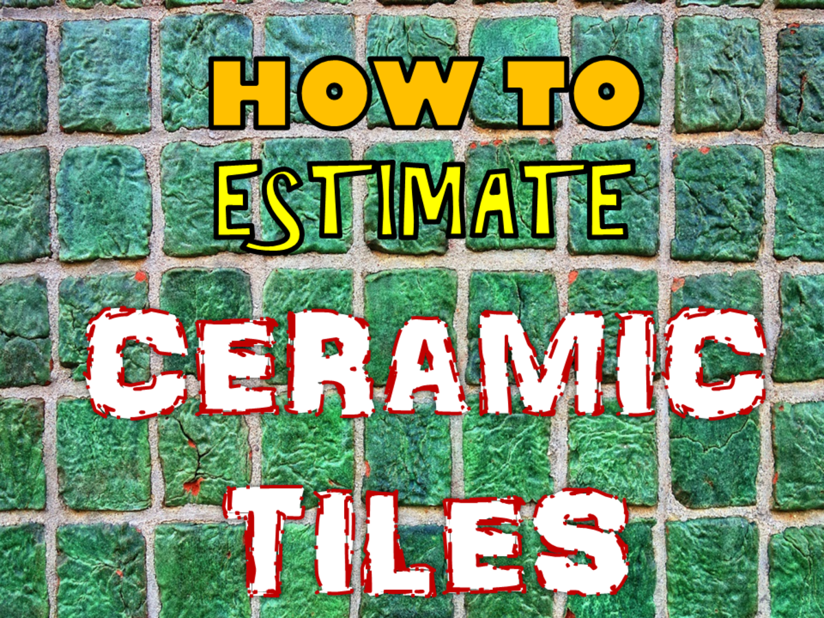 How to Estimate the Different Types and Sizes of Ceramic Tiles