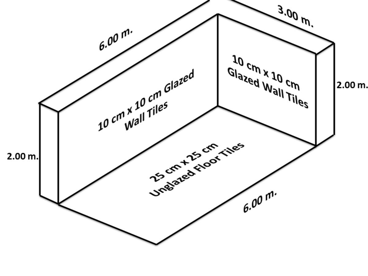 Estimation of Glazed and Unglazed Ceramic Tiles