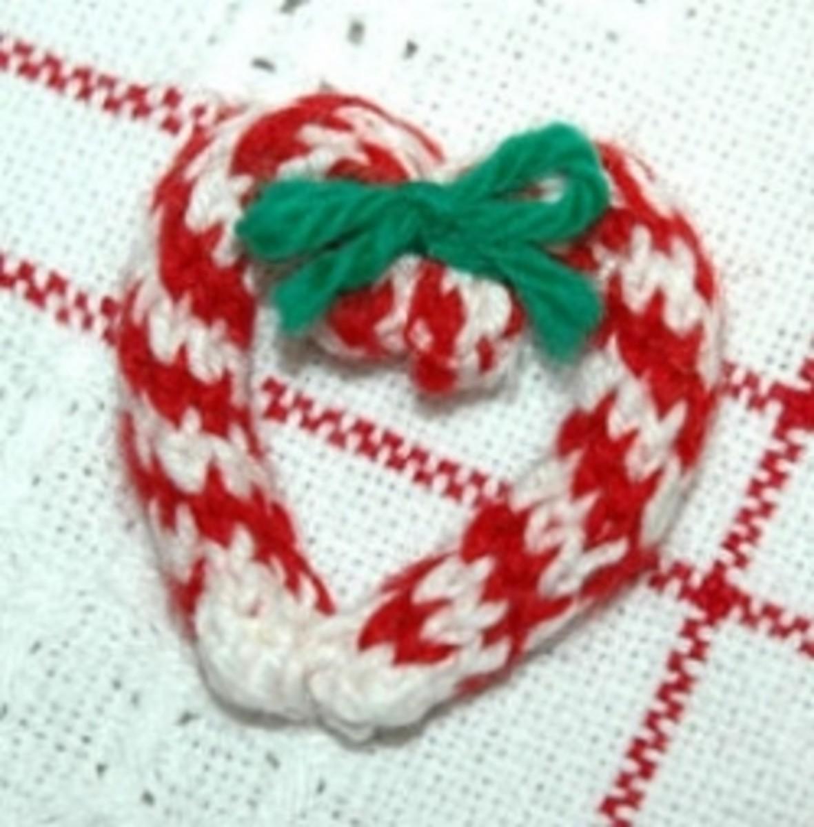 Spool Knitting Ornaments