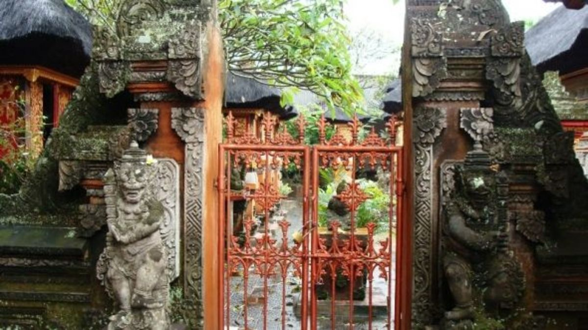 Stone Carvings in Bali