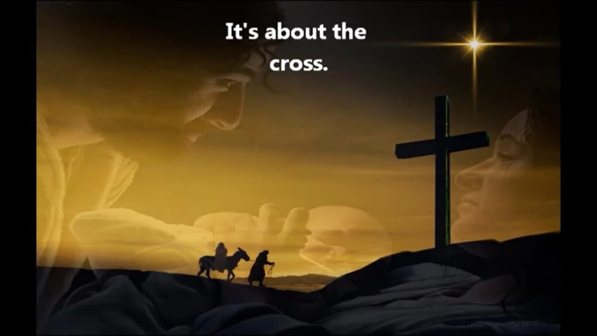 It all leads to the cross