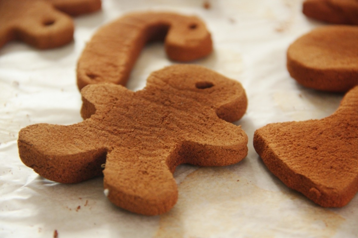 Gingerbread Boy Drying