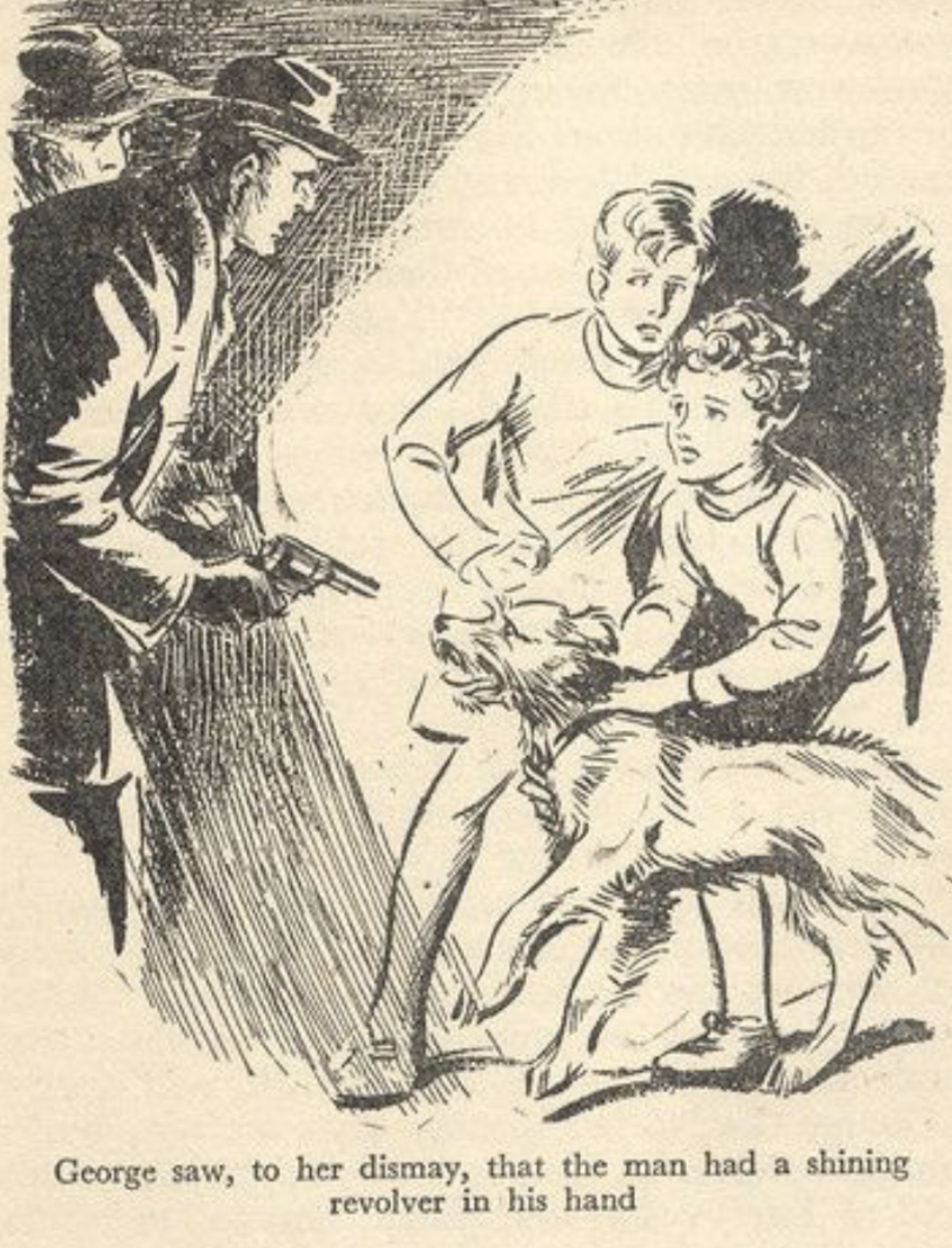 George (Blyton's Famous Five) was a tomboy.  She would sadly be considered transgender today.