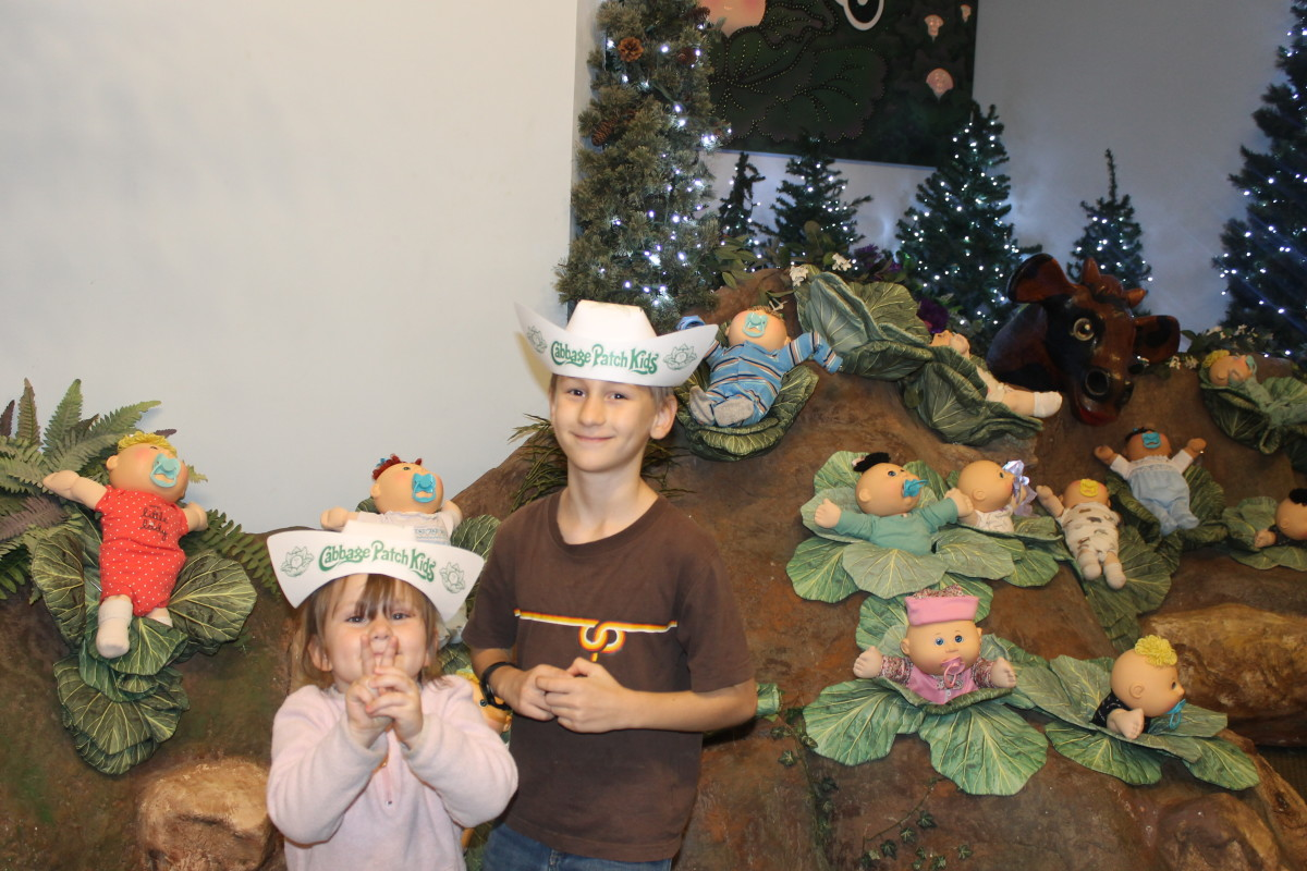 Cabbage Patch Kids at Babyland General