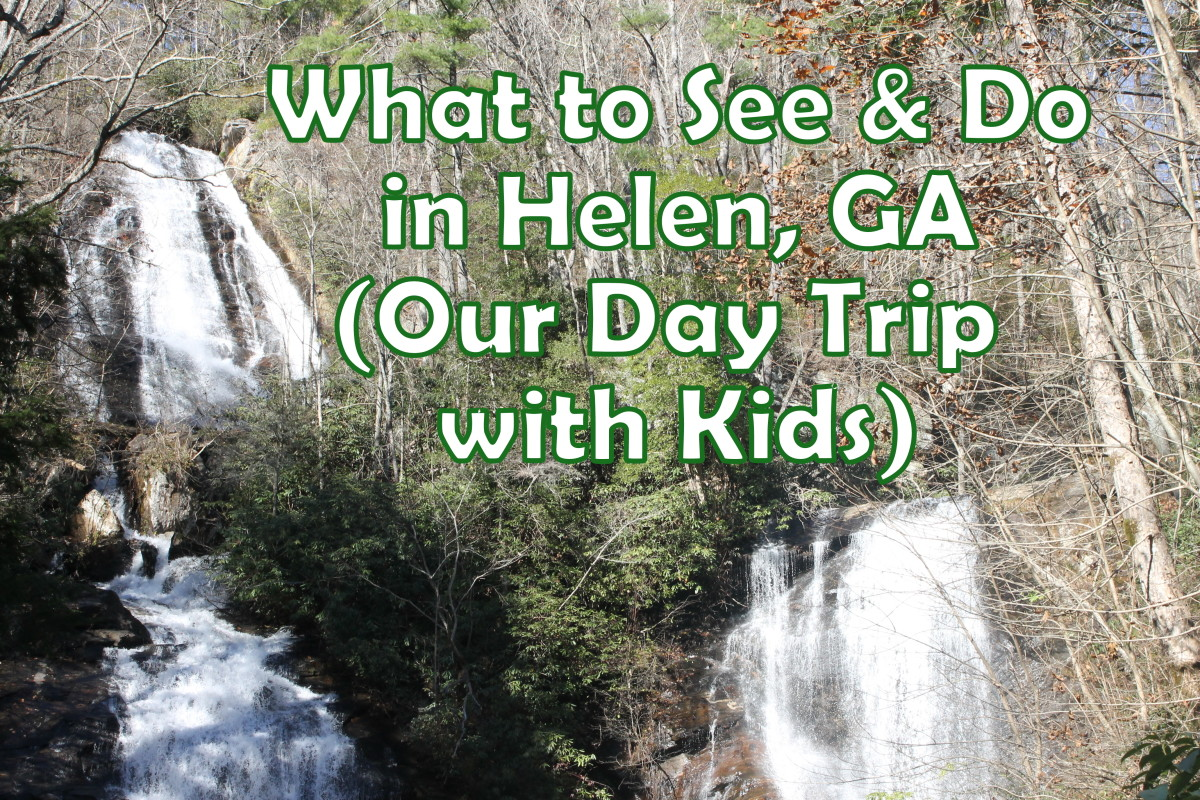 Fun things to see and do in Helen, Georgia, on a day trip with your kids.