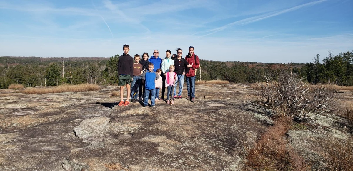 Arabia Mountain in Atlanta is a good alternative if you've already hiked Stone Mountain.