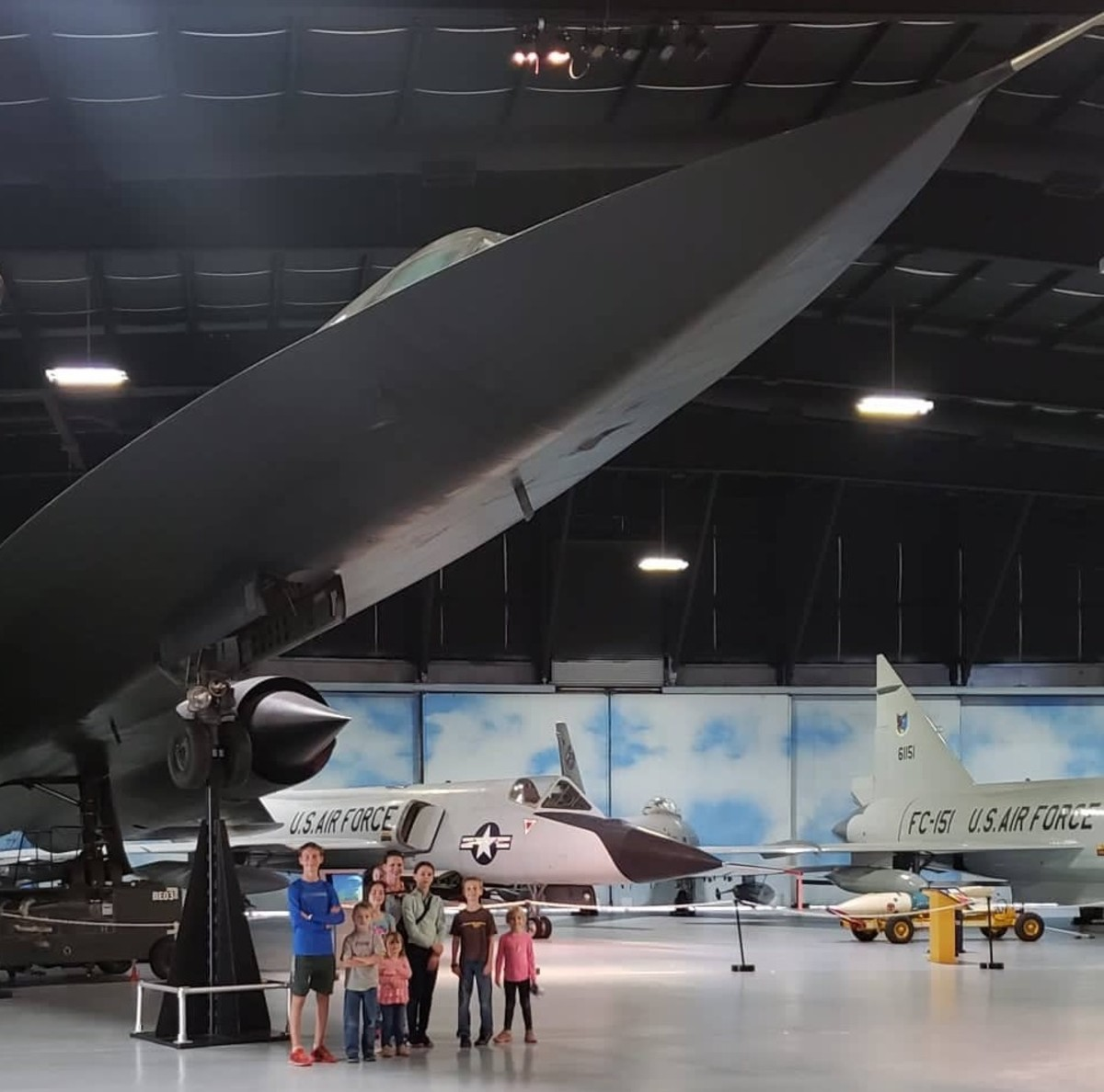 The Blackbird at Robins Air Force Base Museum of Aviation