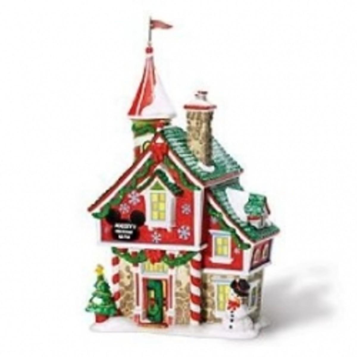 Build a Disney Christmas Village!