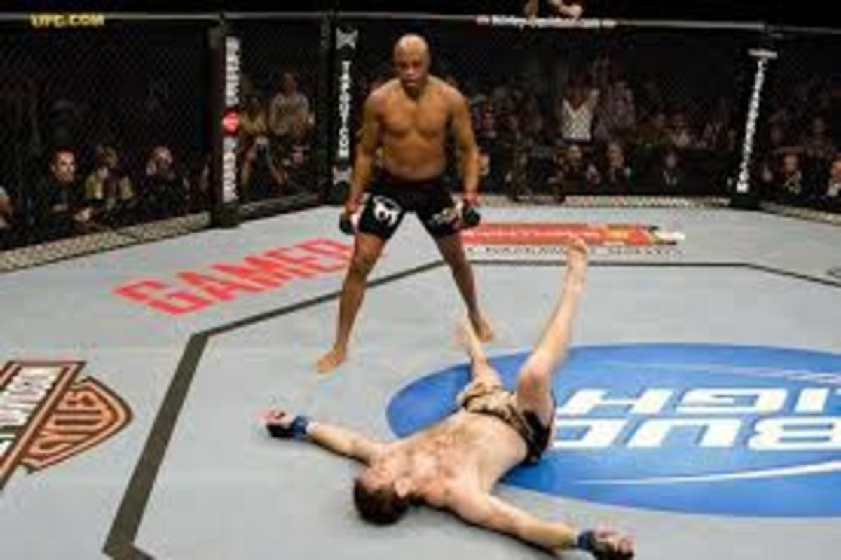 Anderson KO'ing Forrest Griffin