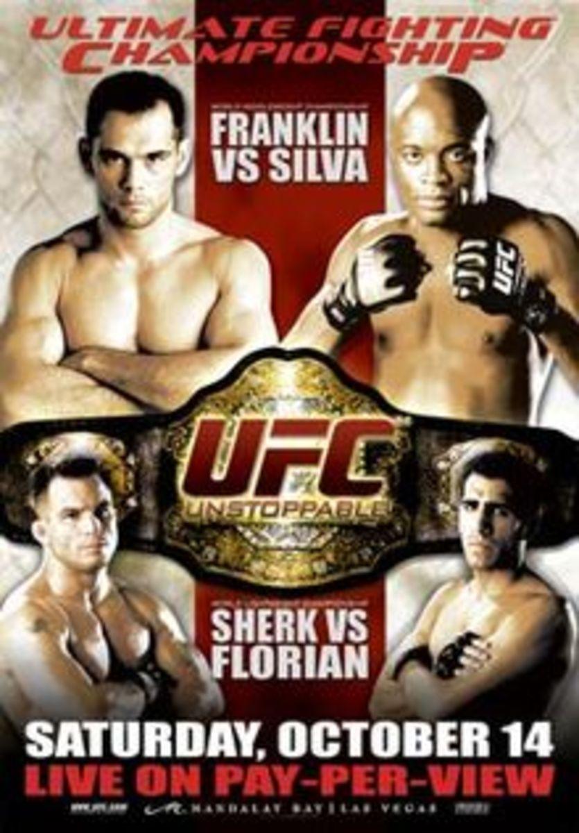 UFC 64 poster