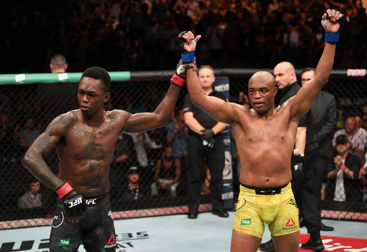 Anderson Silva after his UFC 234 loss to Israel Adesanya.