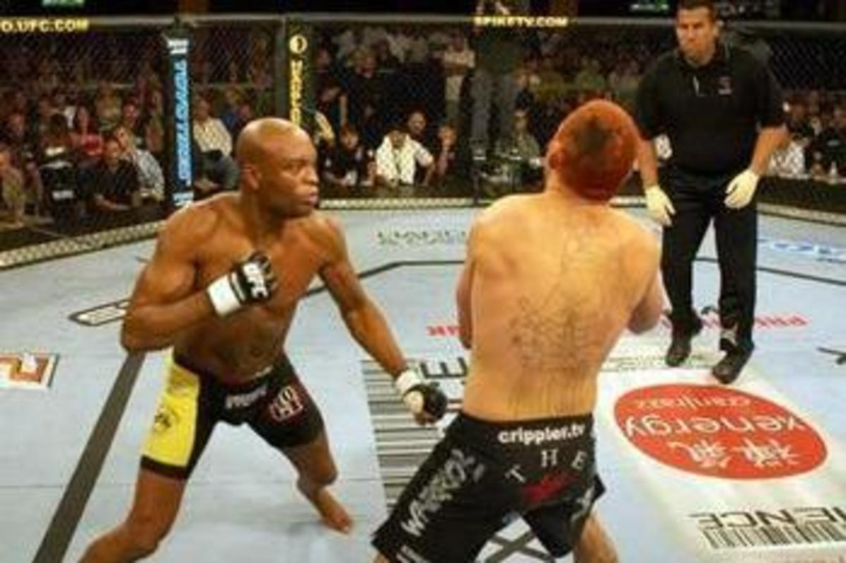 Anderson Silva Vs Chris Leben at UFC Fight Night 5: Silva Vs Leben