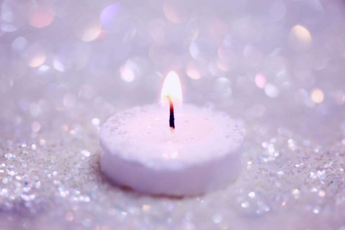 Law of KArma is best explained by Burning Candle
