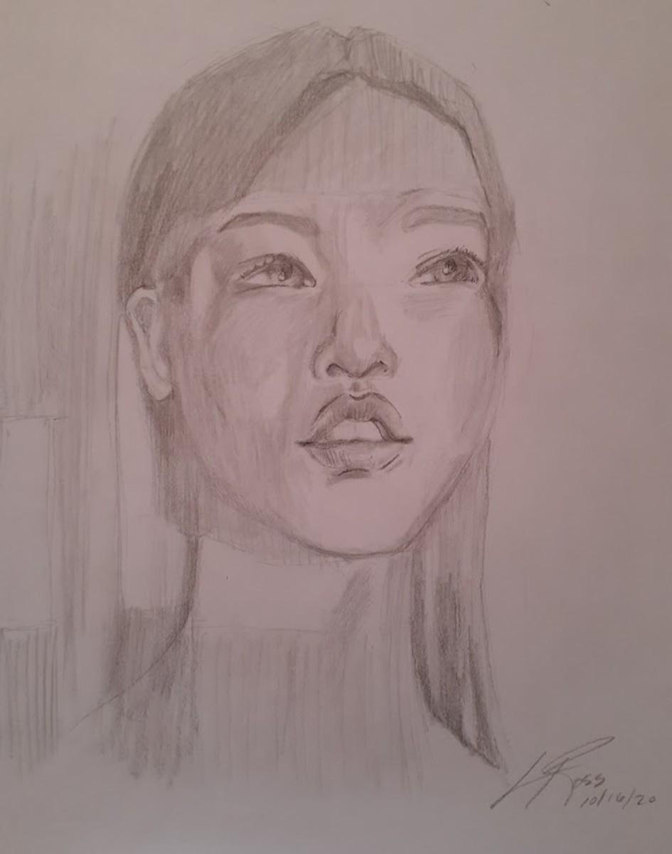Drawing from Chris Hong ytube Tutorial