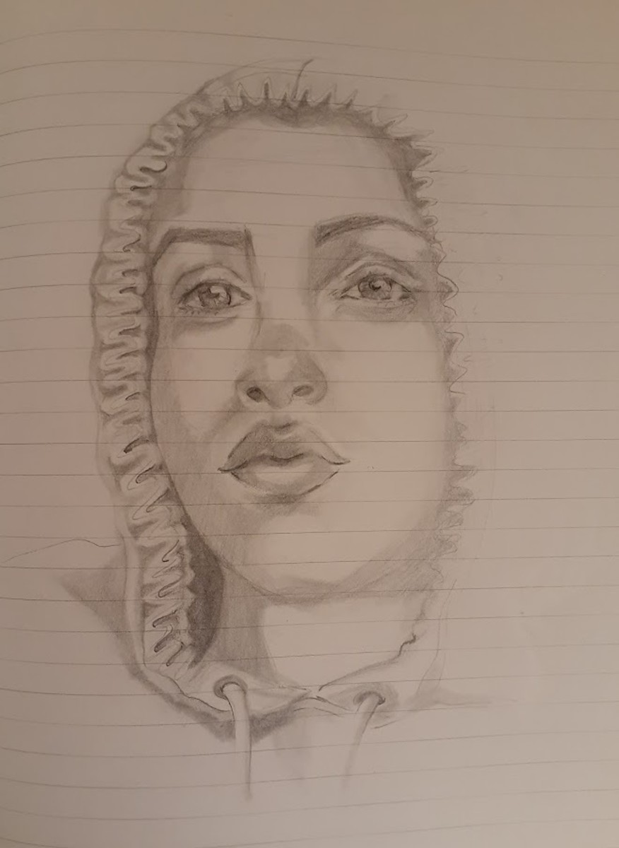 Pencil sketch from a photo
