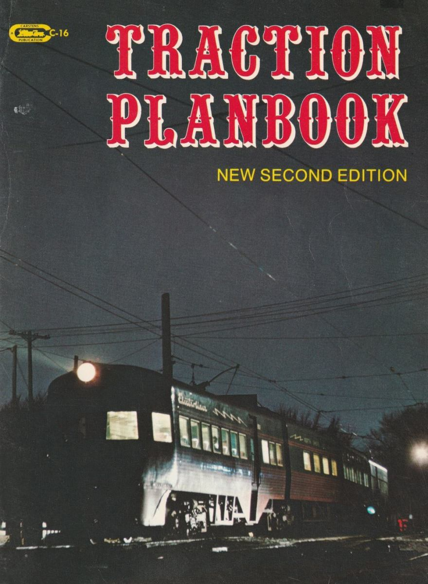 "Cover of ""Traction Planbook (New Second Edition)"" by Carstens Publications"