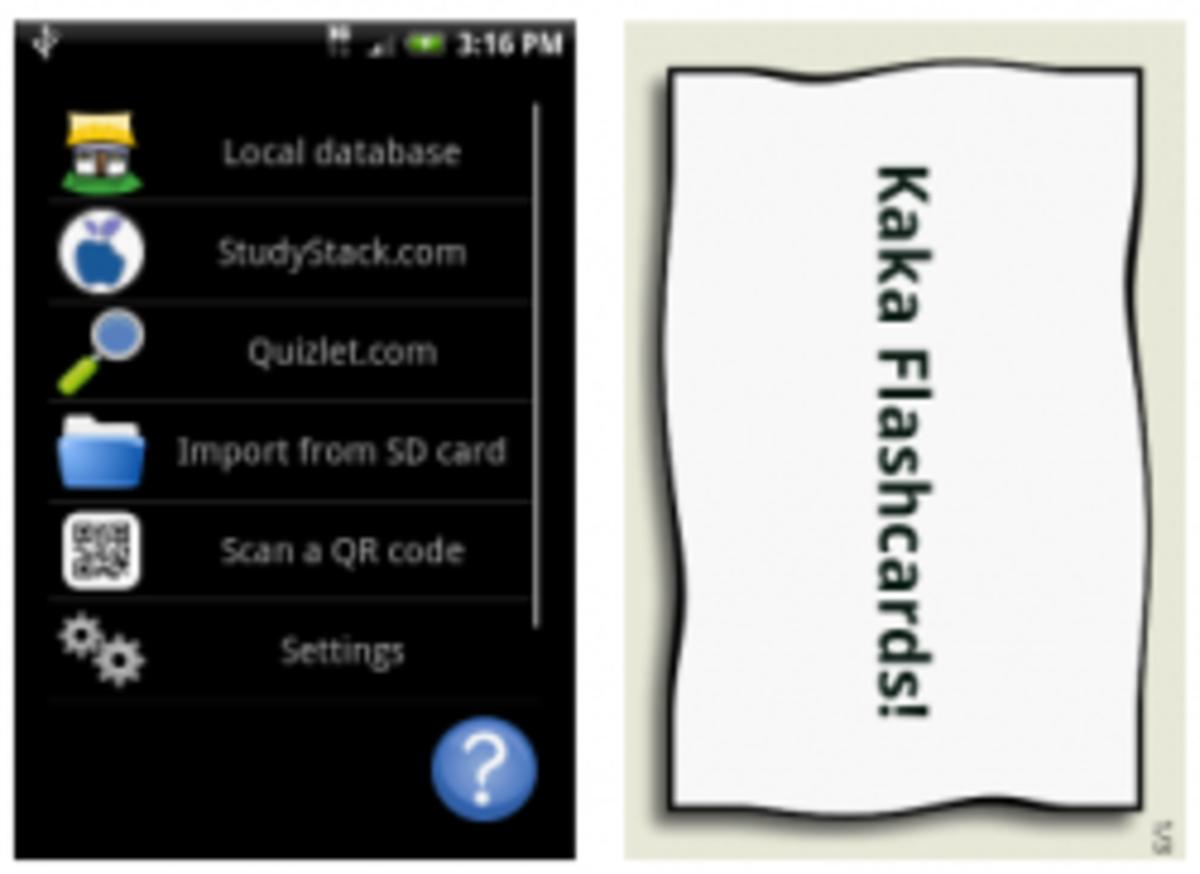 KaKa Flashcards 2 Droid App
