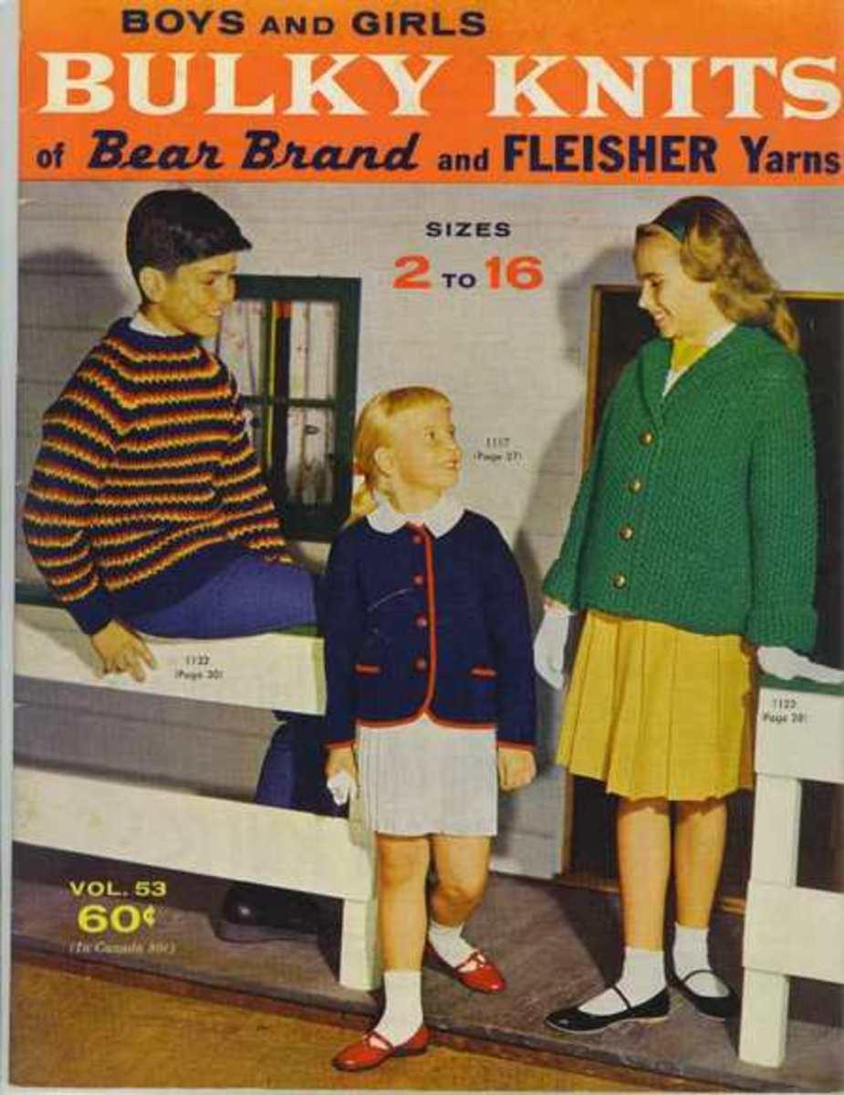 Granny's Knitting Magazine Nightmares