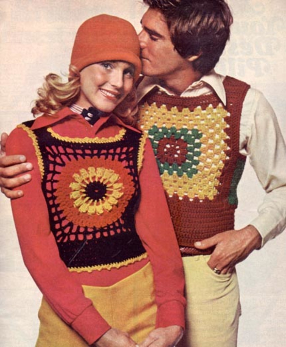 It Takes Real Courage for a Couple to Wear Matching Knitwear Like This!