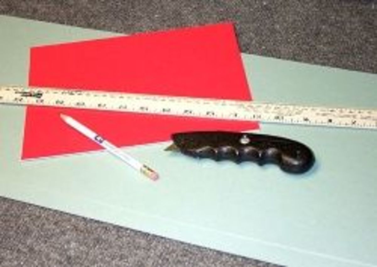 Picture Frtaming Supplies Needed For Cutting Mats by hand