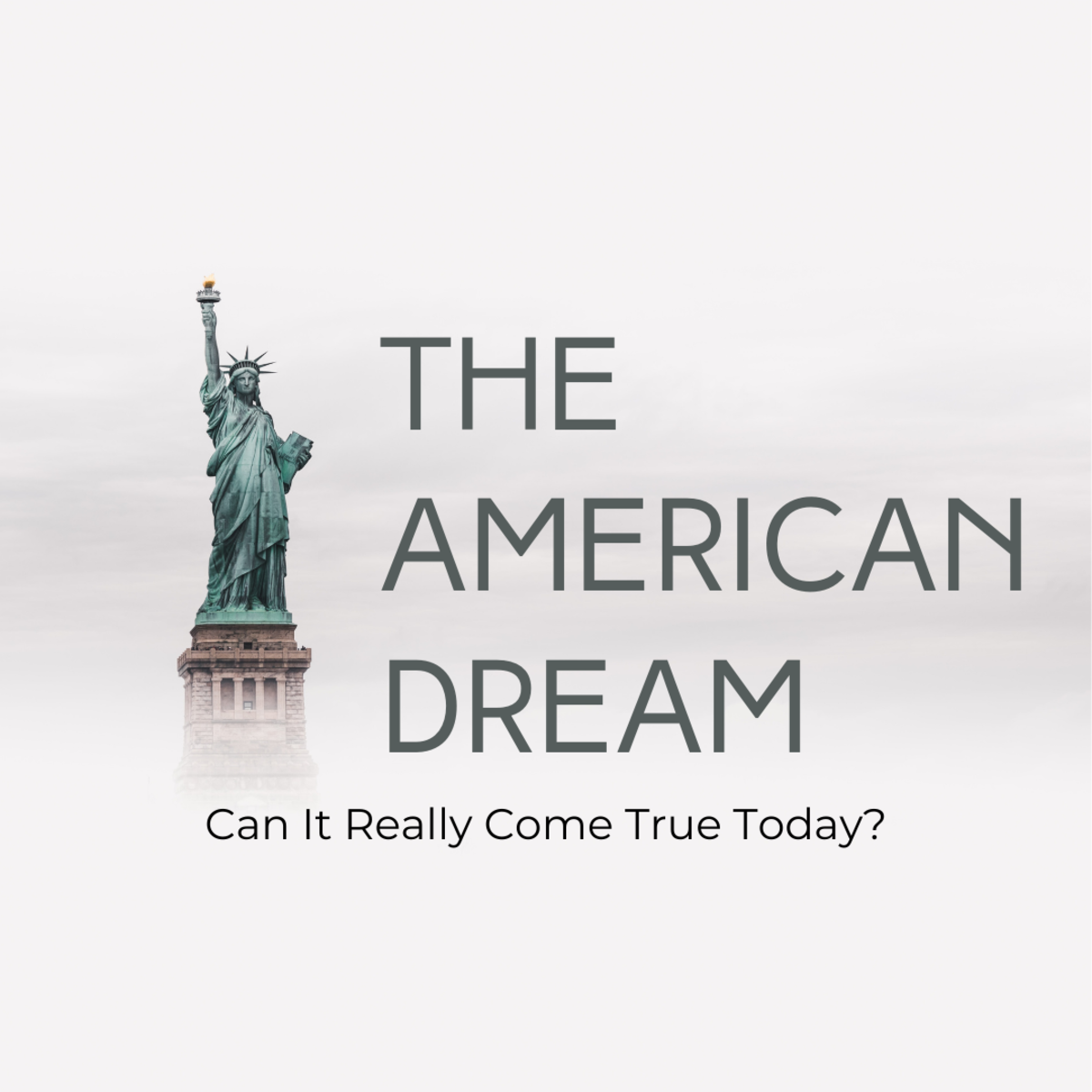 """Explore some of the philosophical problems behind the concept of the """"American Dream."""""""