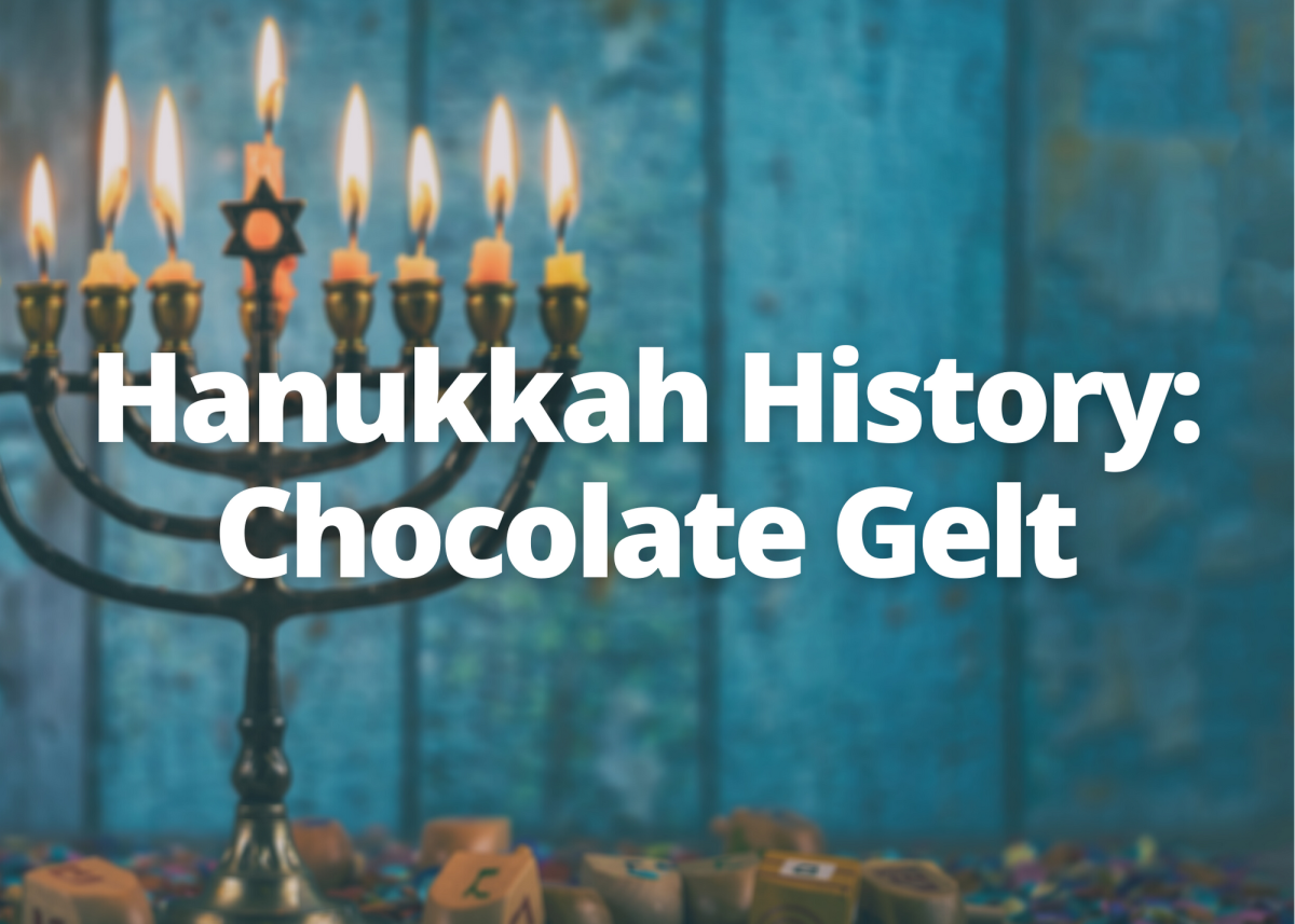 Learn about Hanukkah gelt and its interesting history.