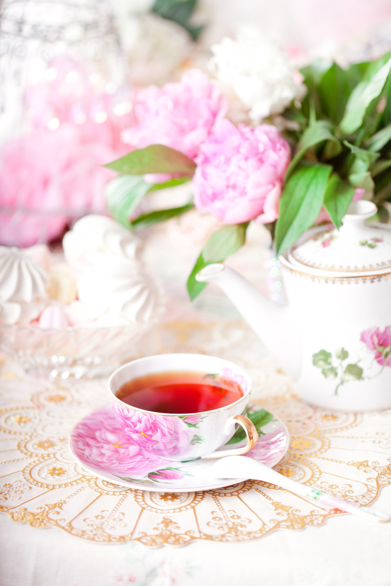 Tea parties are great for spending time with friends or birthday parties for girls!