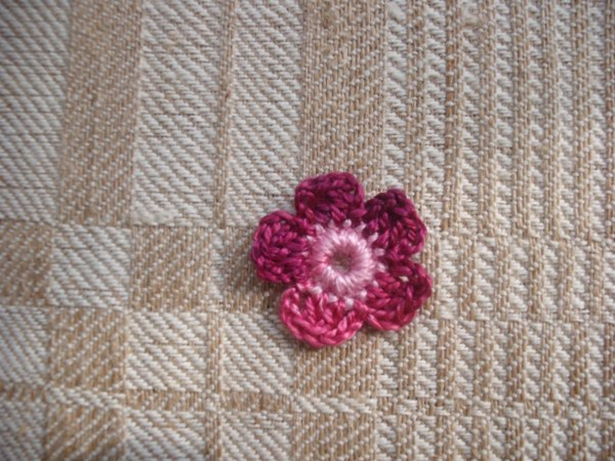 Simple Flower to Crochet