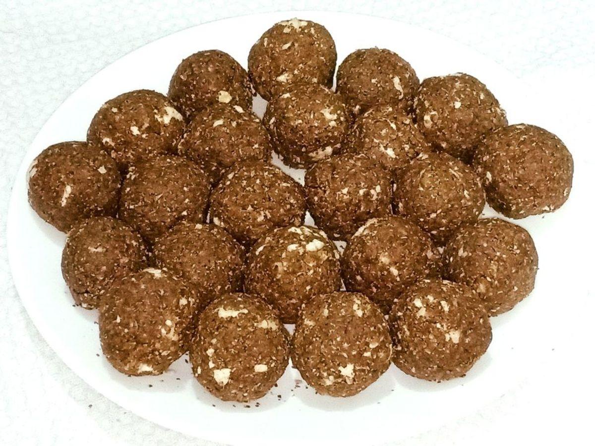 Alsi (Flaxseed) Ladoo Recipe