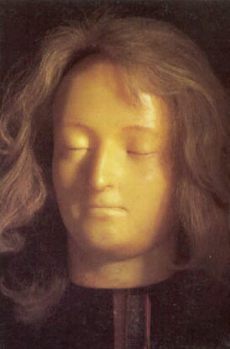 Marie Antoinette Death Mask