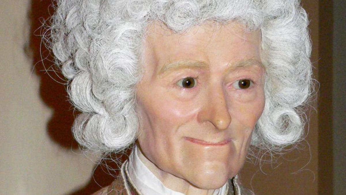 Voltaire Wax Figure