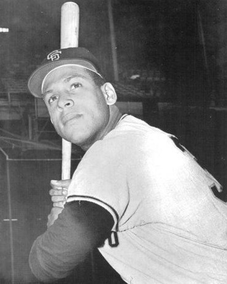 Orlando Cepeda was one of many power-hitting Giants during the 1960s.