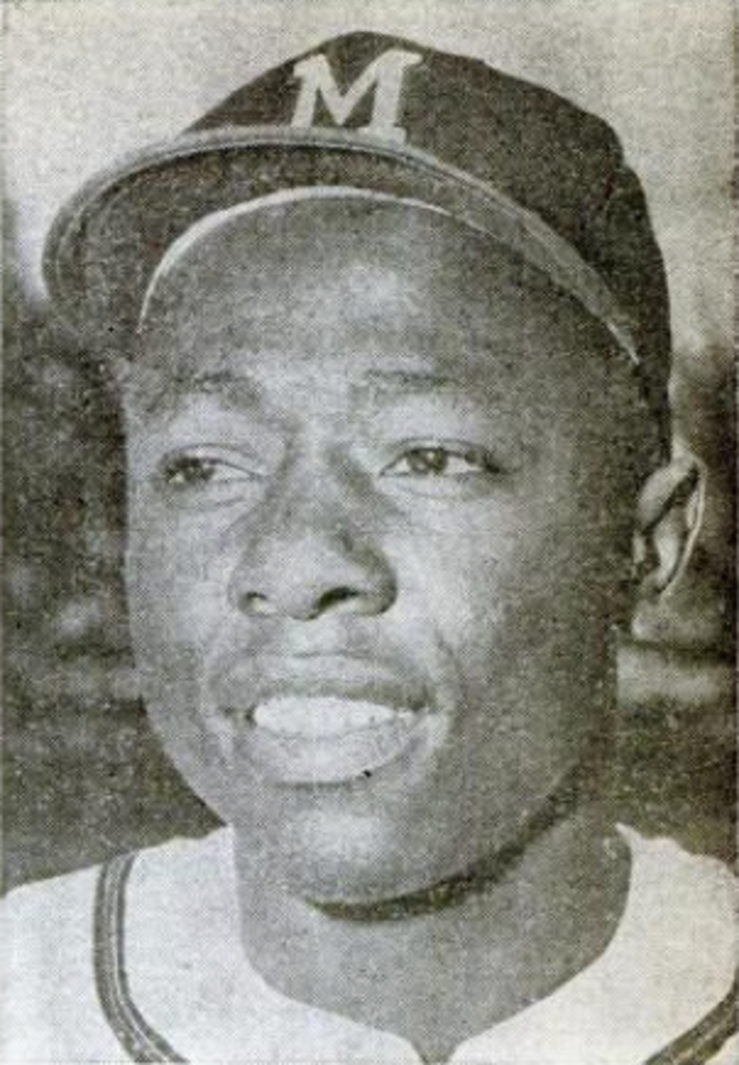 Hank Aaron was consistently among baseball's top power hitters throughout the 1960s.