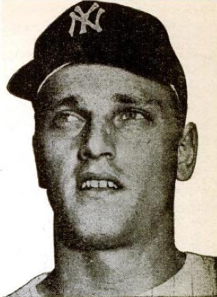 Though Roger Maris is most known for hitting 61 home runs in 1961, he was a consistent threat throughout most of the decade.