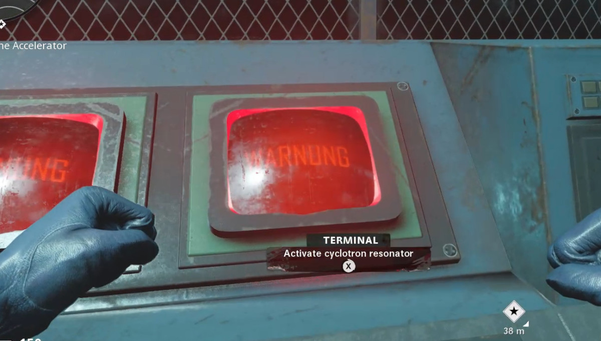 Activate both of the terminals in Die Maschine in order to open an Anomaly.