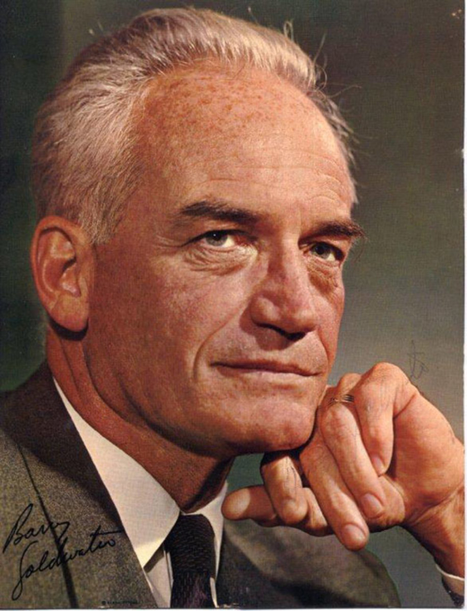 'Conscience of a Conservative'  -Barry Goldwater -