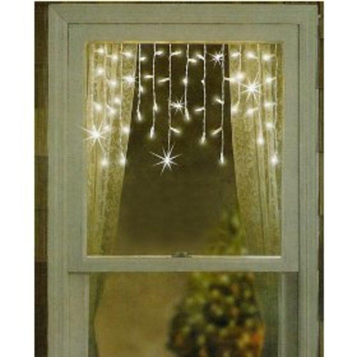 Christmas window lights for Window lights