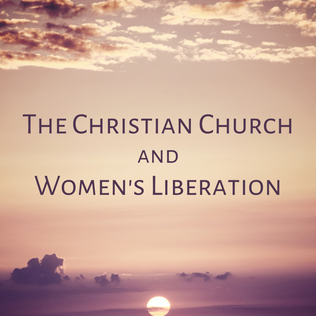 Does the Christian church support women's progress towards equality or hamper it?