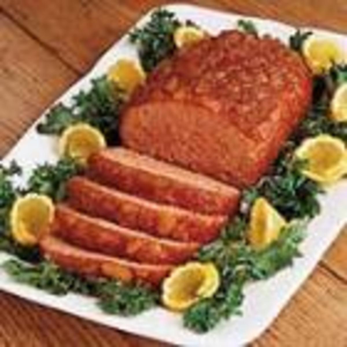 Pineapple Ham Loaf (for Allrecipes)