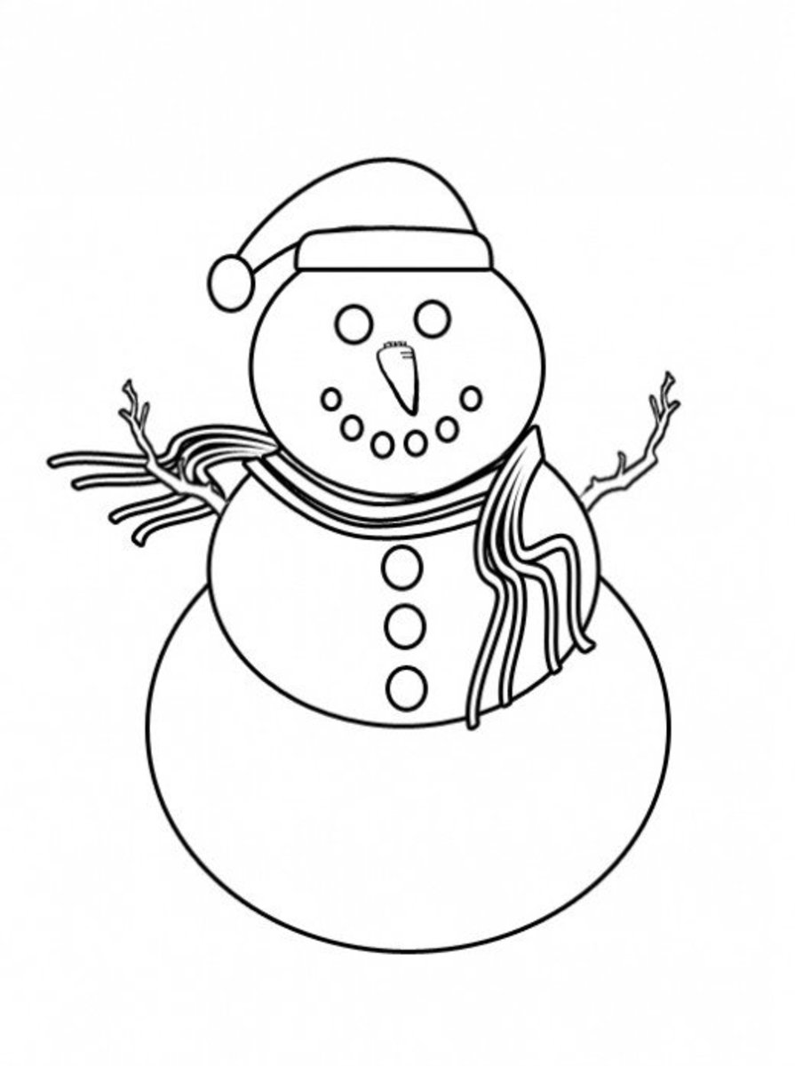 Free Winter Coloring Pages And Crafts | HubPages