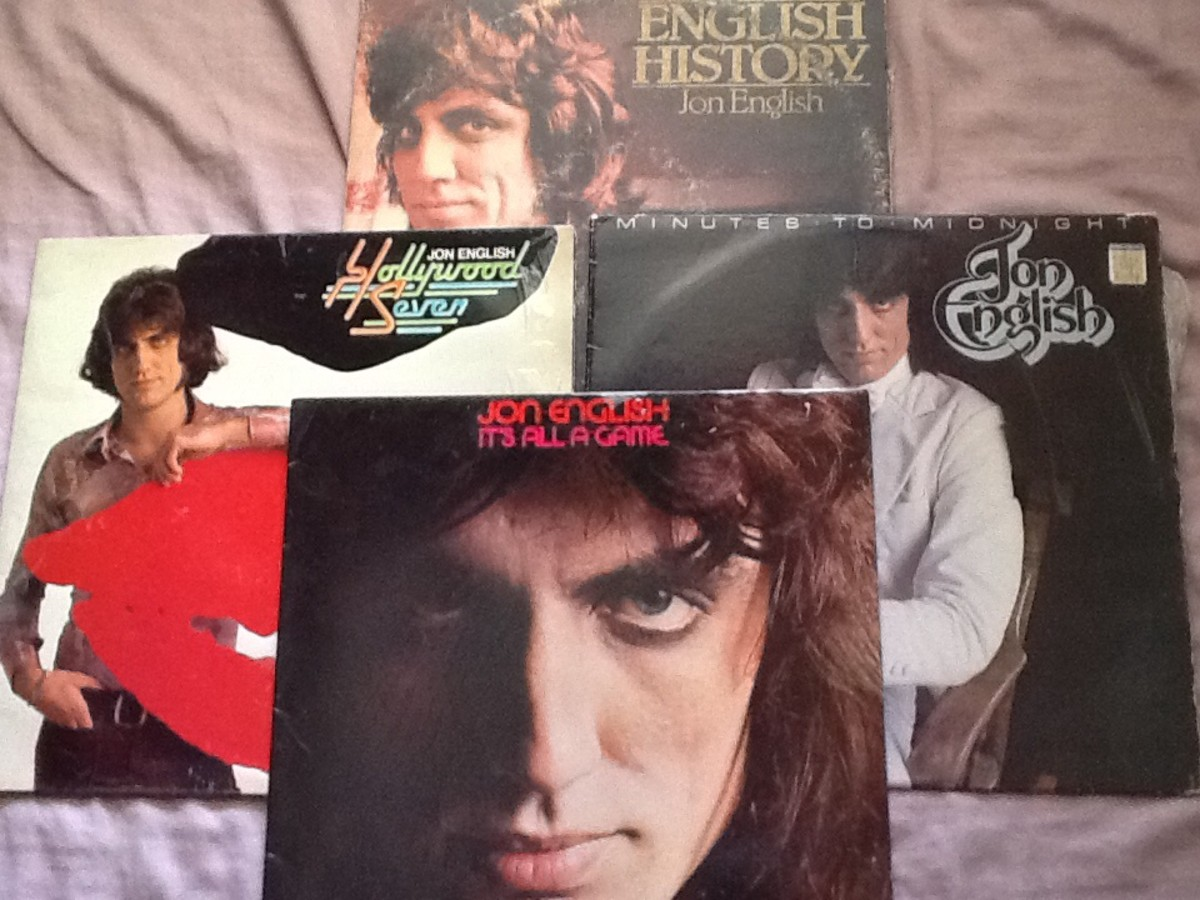From my collection of Jon English albums.