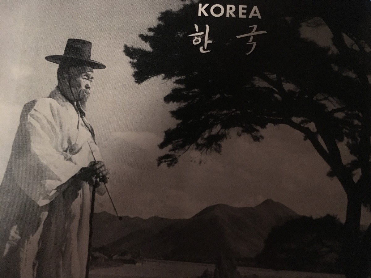 "As early as the 1100's b.c., proud Koreans have referred to their Country as ""chosen, the land of morning calm."""