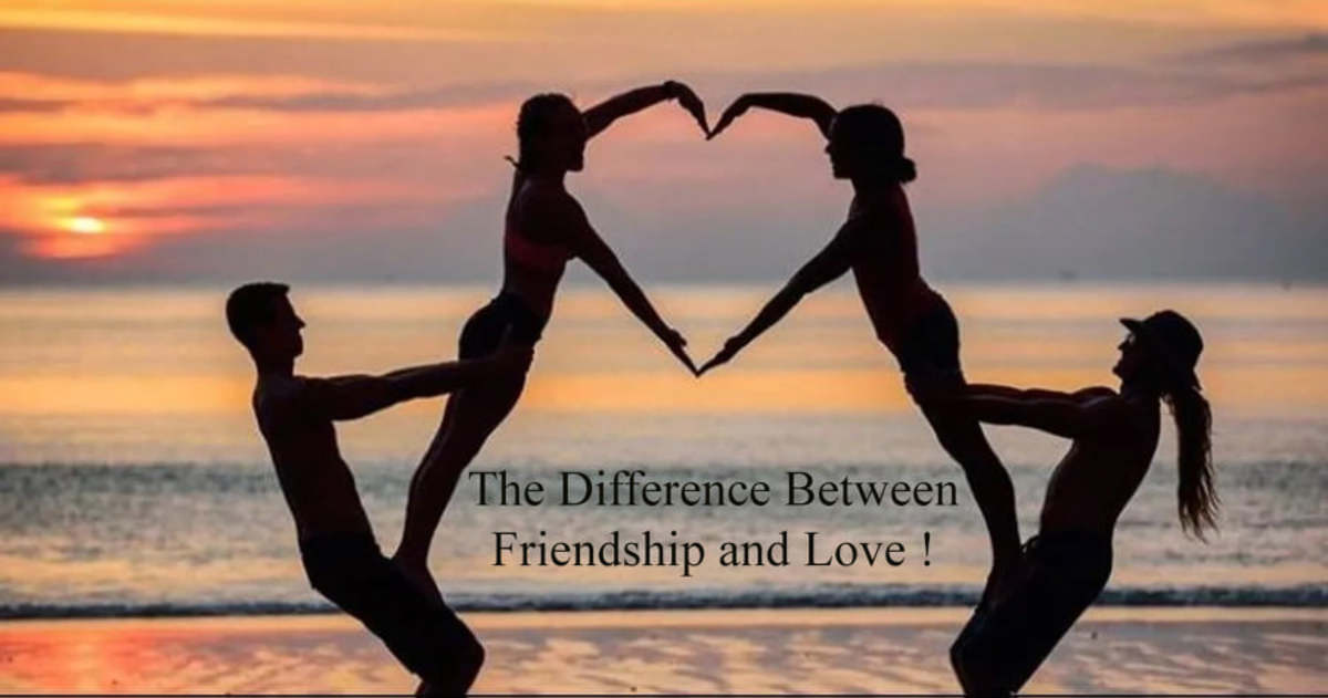 The Difference Between Friendship and Love!