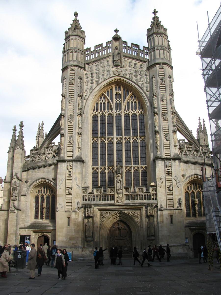 Architecture - Beautiful Bath Abbey